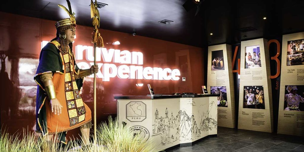 peruvian experience entrance